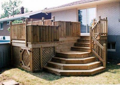 Terrasse patio bois Jaro Construction Rive nord