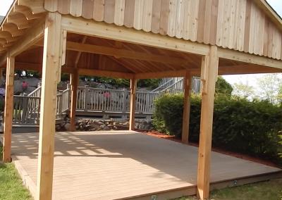 Abri jardin soleil Jaro Construction Rive Nord Laurentides