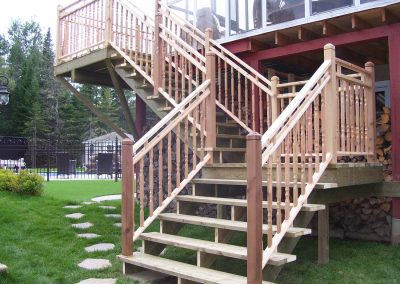 Escalier Terrasse balcon Jaro Construction