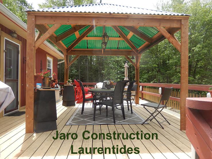 Gazébo et abri de jardin - Jaro Construction