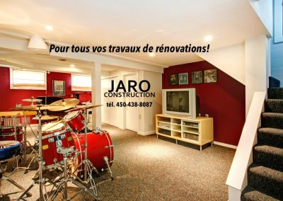 cinema maison renovation laurentides mont tremblant montreal entrepreneur